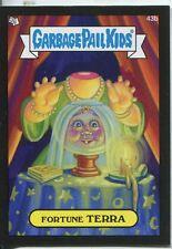 Garbage Pail Kids Mini Cards 2013 Black Parallel Base Card 43b Fortune TERRA