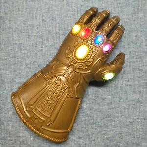 Kid Children Thanos Glove Infinity Gauntlet LED Light 4 Toy Cosplay