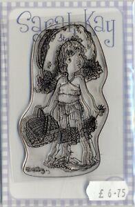 Sarah Kay - Clear Stamp - Picnics of Daisies - SAKNATSK10B