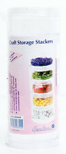 Medium Craft Storage Stackers Pack of 5 Stackers. Store  Beads, Sequins