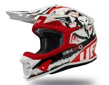 UFO Intrepid Motocross Helmet White Red Black, Small (55 - 56cm)