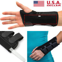 Wrist Support Brace with Splints for Work Carpal Tunnel Arthritis Pain Relife US