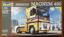 1/24 Renault Magnum 480 Truck Revell Germany #07532 Factory Sealed NISB
