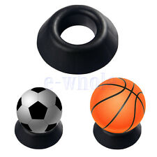 Ball Stand Basketball Football Soccer Rugby Plastic Display Holder Base HM