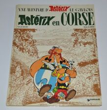 ASTERIX en CORSE BD French Comic 1973 Dargaud Uderzo - Goscinny