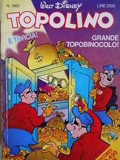 Topolino n°1860 [G.273] - BUONO –