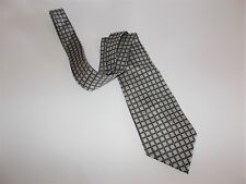 Paul Dione Mens Designer Neck Tie Abstract Geometric Pattern