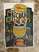 Dogfish Head Ale - Record Store Day 2016 - promo poster 14 x 20 - Breweriana