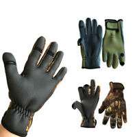 Neoprene Fishing Gloves Folding Fingers Waterproof Anti-Slip Shooting Hunting