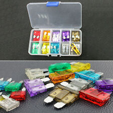 120x Car Truck Motorcycle Mini Fuse Blade Assortment Fuses Kit 5 10 15 20 25 30A