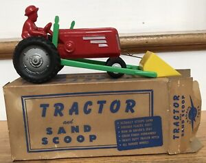 Vintage MIB E R Roach Plastic Tractor Loader Mt Vernon OH