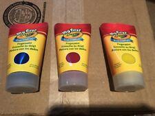 Lot of 3  My First Crayola Grow Creatively Fingerpaint - 3 fl oz each New