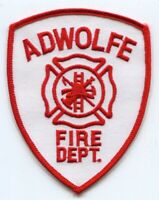 Adwolfe Fire Department Patch Virginia VA