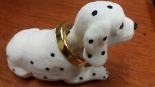 Car Nodding Dog Pup Toy Classic Novelty Bobble Spots Black White Gift Present UK