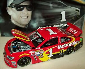 Jamie McMurray 2015 McDonald's #1 Chevy SS 1/24 NASCAR Diecast New