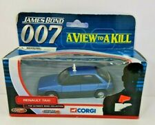 New ListingCorgi Diecast Car Renault Taxi 007 A View to a Kill Ty06402 New