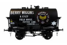 Dapol 7f-059-009 O Gauge 14t Tank Wagon Class B Berry Wiggins Black 103