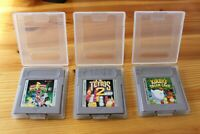 Nintendo Gameboy Original Games Kirby Dreamland , Tetris 2, Power Rangers cased