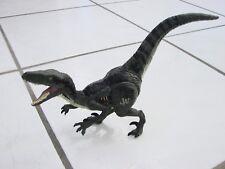"""Jurassic World Rapter Dinosaur Action Figure  9.5"""" long, noise making"""