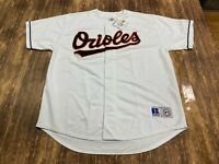 VTG Baltimore Orioles Russell Athletic White MLB Baseball Jersey - XL - NWT