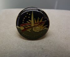 NASA Space Shuttle Mission Lounge Hilmers Nelson Hauck Covey Lapel Pin