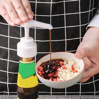 NE_ Oyster Bottle Nozzle Pump Dispenser Sauce Push Restaurant Tool Kitchen Suppl