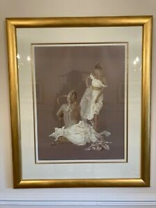 "Kay Boyce ""Gold and White"" limited edition print 191/650"