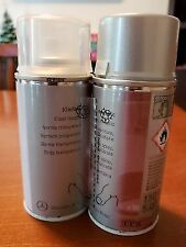 Mercedes Benz Touch-Up Paint Spray Set Black Pearl 199 Genuine