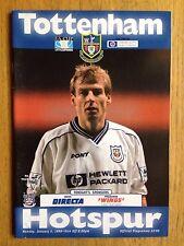 Tottenham Hotspur v Queens Park Rangers 1997/98 FA Cup programme