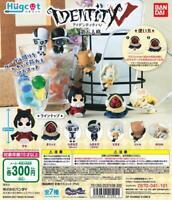 Identity V Hugcot All 7 Set Capsule toy mini figure Cable Accessory Bandai