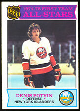 1975-76 OPC O PEE CHEE HOCKEY #287 DENIS POTVIN ALL STAR NM NEW YORK ISLANDERS