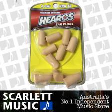 HEAROS - HO5414 NR-32 Value Pack Ear Plugs / Filters Foam 6 Pairs NR32 *NEW*