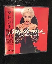 Madonna Rare You Can Dance Japan Tour Mini CD WPCR-17081 Obi Japanese New