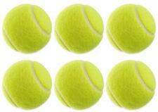 6X Tennisbälle für Tennis & Freizeit |Tennis-Ball gelb für Kinder und Erwachsene