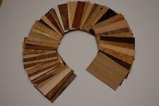 45 placages bois 10x15cm ép 0.6mm (Ma boutique = 1000m²  d'essence differente)