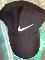 Nike AQ5349-010 Men's Dri-Fit Tech Golf Cap - Black- New!