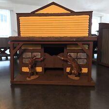 conte playset tssd austin miniatures 1/32nd scale western foam building