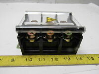 Idec BN200BW 600V 3 Pole 200A 4/0 AWG Contact Block