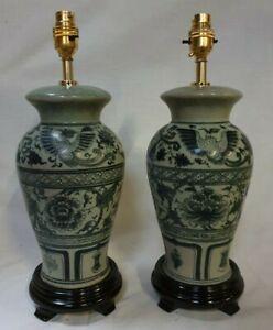Pair of Thai/Oriental Table Lamp JK-002A