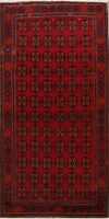 Excellent Vintage Traditional Wool Hand-Knotted Geometric Oriental Area Rug 6x10