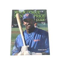Beckett Minor League Monthly Price Guide July 1990, Ruben Sierra
