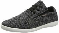 MUK LUKS Men's Liam Shoe Lace up Superior Comfort Casual Sneaker Black NEW