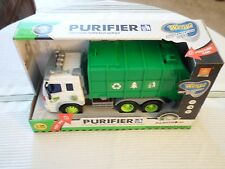 Wenyi City Sanitation Series Purifier Friction Truck WY307S Lights/Sound New Toy