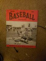 Baseball Magazine - 1940 March - Leo Durocher Brooklyn Dodgers Cover