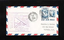 Airport Dedication Shushan New Orleans Air Mail Field 1934 Cover 7t