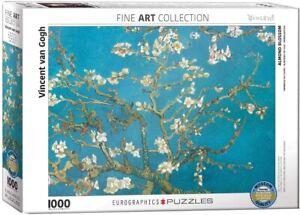 Almond Blossom Vincent Van Gogh 1000 Piece Jigsaw Puzzle 680mm x 490mm (pz)