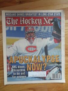 THE HOCKEY NEWS December 23, 1994 Newspaper PATRICK ROY Montreal Canadiens