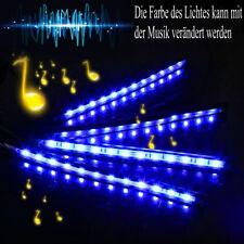 LED Lichtband Auto Innenbeleuchtung Musik Lichtleiste RGB Wasserdicht LED