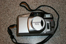 Olympus Superzoom 70 S Film Camera with Case