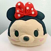 "Disney Tsum Tsum Minnie Mouse Large Plush 17"" Stackable Pillow"